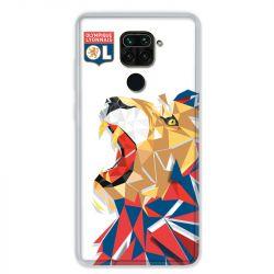 Coque pour Xiaomi Redmi Note 9 - License Olympique Lyonnais OL - lion color