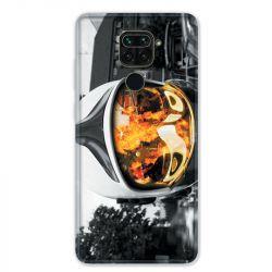 Coque pour Xiaomi Redmi Note 9 - pompier casque feu