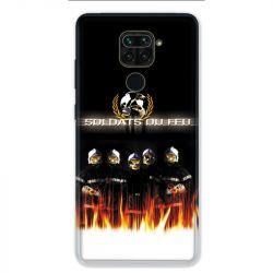 Coque pour Xiaomi Redmi Note 9 - pompier soldat