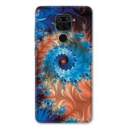 Coque pour Xiaomi Redmi Note 9 - Psychedelic Spirale