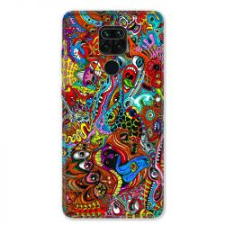 Coque pour Xiaomi Redmi Note 9 - Psychedelic Yeux