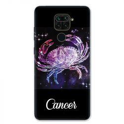 Coque pour Xiaomi Redmi Note 9 - signe zodiaque 2 Cancer
