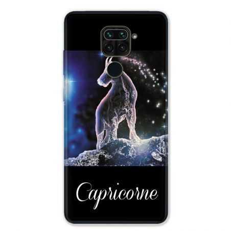 Coque pour Xiaomi Redmi Note 9 - signe zodiaque 2 Capricorne