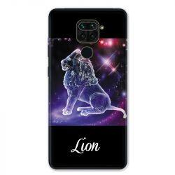 Coque pour Xiaomi Redmi Note 9 - signe zodiaque 2 Lion
