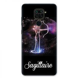 Coque pour Xiaomi Redmi Note 9 - signe zodiaque 2 Sagittaire