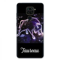 Coque pour Xiaomi Redmi Note 9 - signe zodiaque 2 Taureau