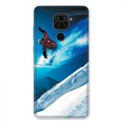 Coque pour Xiaomi Redmi Note 9 - Snowboard saut