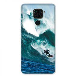 Coque pour Xiaomi Redmi Note 9 - Surf vague
