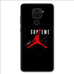 Coque pour Xiaomi Redmi Note 9 - Jordan Supreme Noir