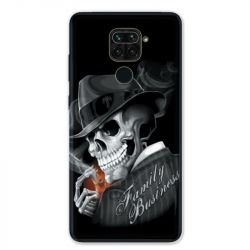 Coque pour Xiaomi Redmi Note 9 - tete de mort family business