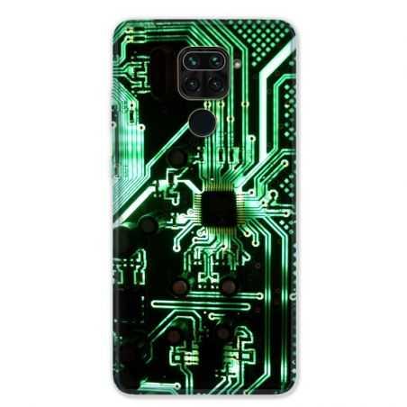 Coque pour Xiaomi Redmi Note 9 - Trompe œil composant