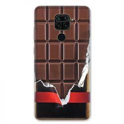 Coque pour Xiaomi Redmi Note 9 - Trompe œil chocolat