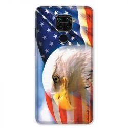 Coque pour Xiaomi Redmi Note 9 - Amerique USA Aigle