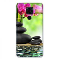 Coque pour Xiaomi Redmi Note 9 - orchidee eau