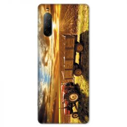 Coque pour Sony Xperia 10 II - Agriculture Tracteur color