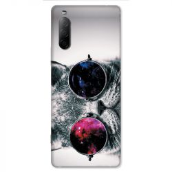 Coque pour Sony Xperia 10 II - Chat Fashion