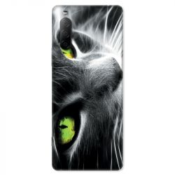 Coque pour Sony Xperia 10 II - Chat Vert