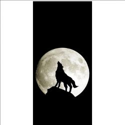 Coque pour Sony Xperia 10 II - Loup Noir
