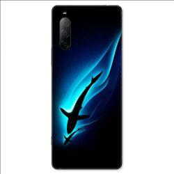 Coque pour Sony Xperia 10 II - Requin Noir