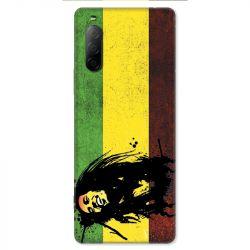 Coque pour Sony Xperia 10 II - Bob Marley Drapeau