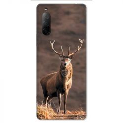 Coque pour Sony Xperia 10 II - chasse chevreuil Blanc
