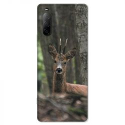 Coque pour Sony Xperia 10 II - chasse chevreuil Bois