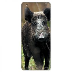 Coque pour Sony Xperia 10 II - chasse sanglier bois
