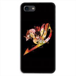Coque pour iphone 7  / 8 / SE (2020) Manga Fairy Tail Logo Noir