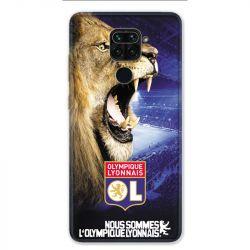 Coque pour Xiaomi Redmi Note 9 - Licence Olympique Lyonnais - Rage de vaincre