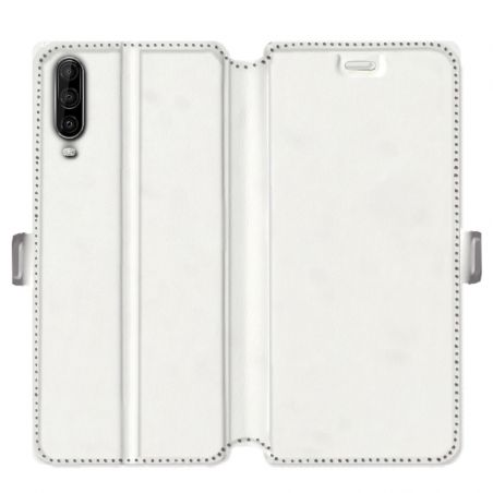 Housse cuir portefeuille pour Wiko View 4 / View 4 Lite personnalisee
