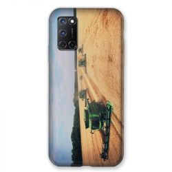 Coque pour Oppo A72 Agriculture Moissonneuse