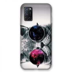 Coque pour Oppo A72 Chat Fashion