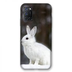Coque pour Oppo A72 Lapin Blanc