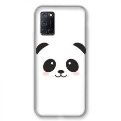 Coque pour Oppo A72 Panda Blanc