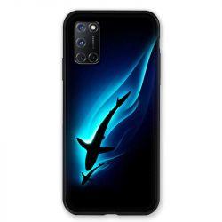 Coque pour Oppo A72 Requin Noir