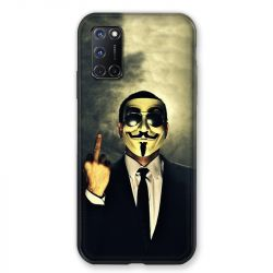 Coque pour Oppo A72 Anonymous Doigt