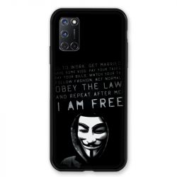 Coque pour Oppo A72 Anonymous I am free