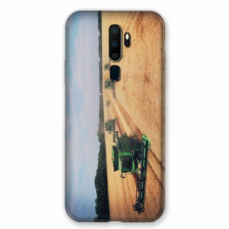 Coque pour Oppo A9 (2020) Agriculture Moissonneuse