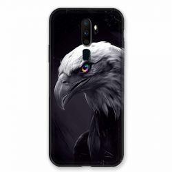 Coque pour Oppo A9 (2020) Aigle Royal Noir