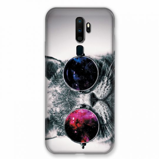 Coque pour Oppo A9 (2020) Chat Fashion