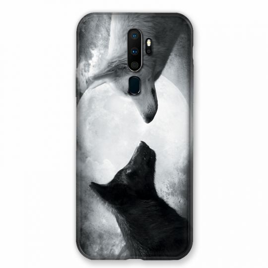 Coque pour Oppo A9 (2020) Loup Duo