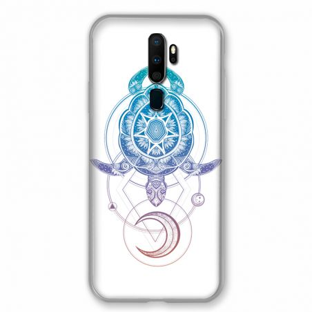 Coque pour Oppo A9 (2020) Animaux Maori Tortue Color