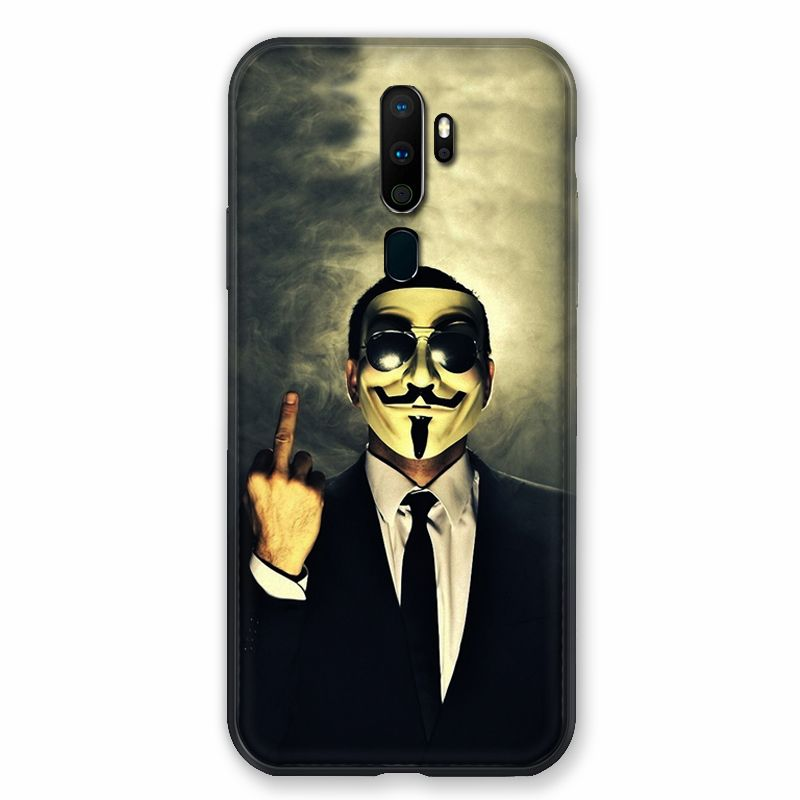 Coque pour Oppo A9 (2020) Anonymous Doigt