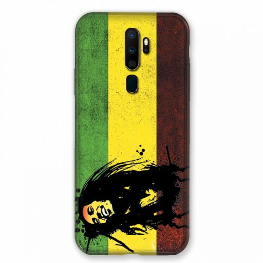 Coque pour Oppo A9 (2020) Bob Marley Drapeau