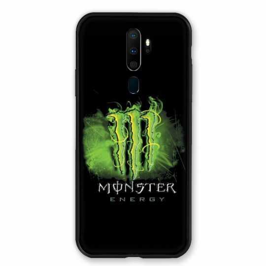 Coque pour Oppo A9 (2020) Monster Energy Vert