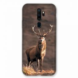 Coque pour Oppo A9 (2020) Chasse Chevreuil Blanc