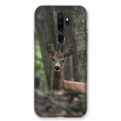 Coque pour Oppo A9 (2020) Chasse Chevreuil Bois
