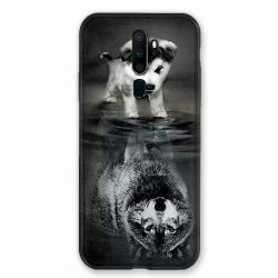 Coque pour Oppo A9 (2020) Chien Reflet