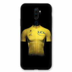 Coque pour Oppo A9 (2020) Cyclisme Maillot Jaune