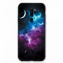 Coque pour Oppo A9 (2020) Univers Bleu Violet